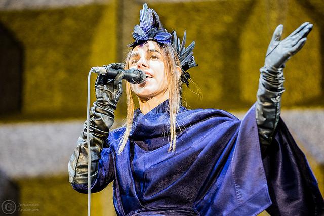 PJ Harvey - 11. August 2016 - Øyafestivalen