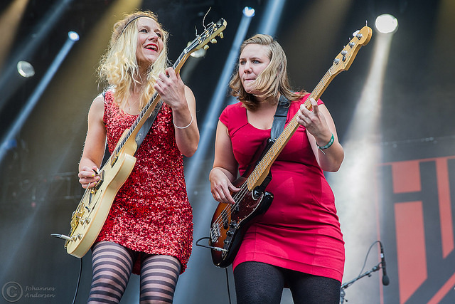 Hedvig Mollestad Trio - 12. August 2016 - Øyafestivalen